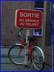 Vélo Tim Horton's bike