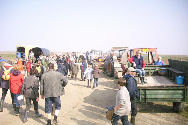 Départ pour la pêche à Cherrueix