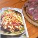 Käsespätzle und Schweinefilet