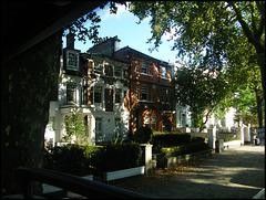 leafy suburbia