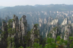 Ĉinio  Hunan Zhangjiajie