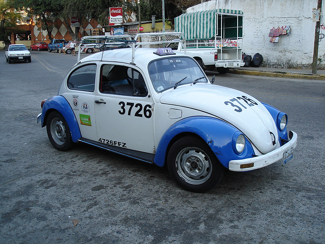 Taxi coccinelle à la mexicana !