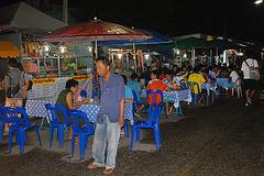 On the night market in Loei city