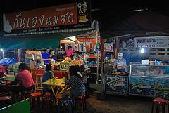 Food stalls at the night market