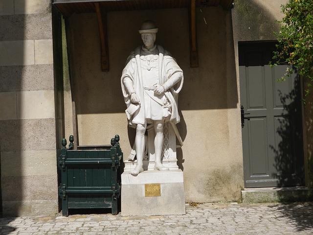 Louis XI prenant le soleil à Amboise.