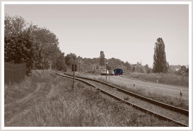 Locomotive on the road?