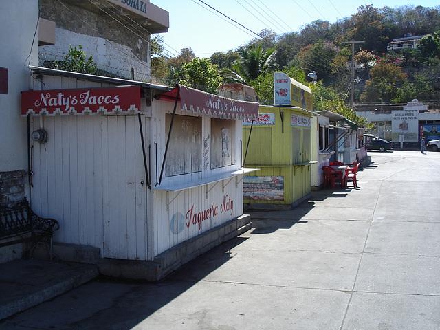 Puerto Angel, Oaxaca. Mexique / 20 janvier 2011.