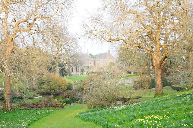 Dartington Hall Garten