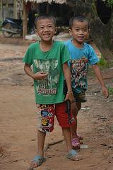 Children in Baan Khok