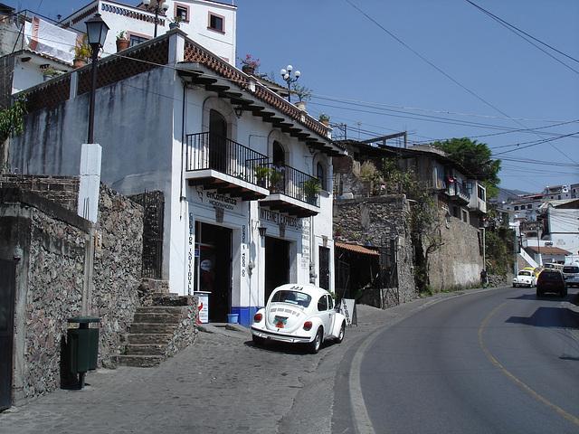 Taxco,Guerrero. Mexique. 30 mars 2011.