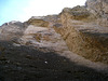 Great Outdoors Hike To The Grottos In Mecca Hills - CLiff Face (6388)