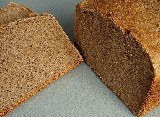 100% roggebrood uit de broodbakmachine