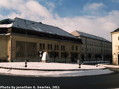 Telc, Picture 2, Cropped Version, Telc, Kraj Vysocina, Moravia (CZ), 2011