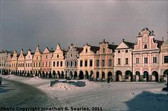 Telc, Picture 19, Edited Version, Kraj Vysocina, Moravia (CZ), 2011
