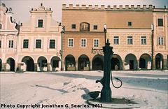 Telc, Picture 22, Edited Version, Kraj Vysocina, Moravia (CZ), 2011