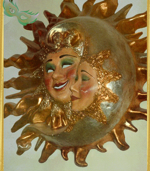 la lune avait rendez vous avec le soleil