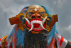 Demon figure in Subagan