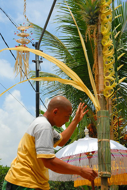 Preparing for Nyepi