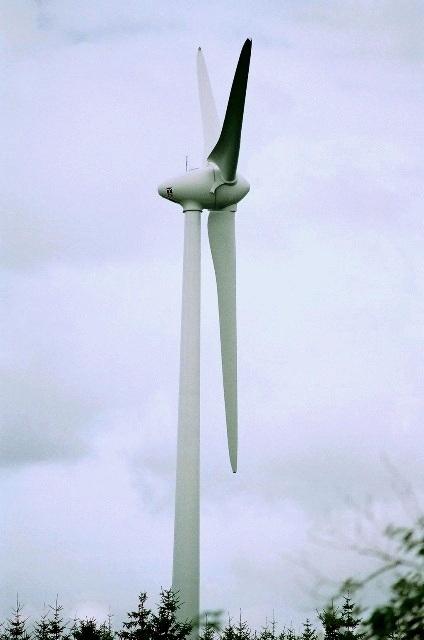 ere éolienne du plateau à Freycenet
