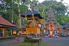Pura Dalem Agung Padangtegal in the Monkey Forest