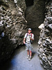 Great Outdoors Hike To The Grottos In Mecca Hills - Scott in Grotto #1 (6376)