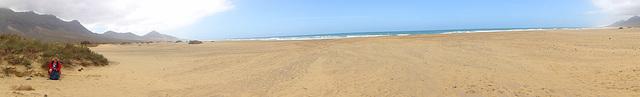 180 Grad Panorama am Playa de Cofete