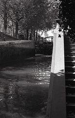 L'écluse du canal Saint-Martin