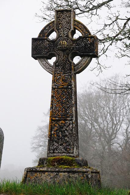 Grabkreuz in Chagford