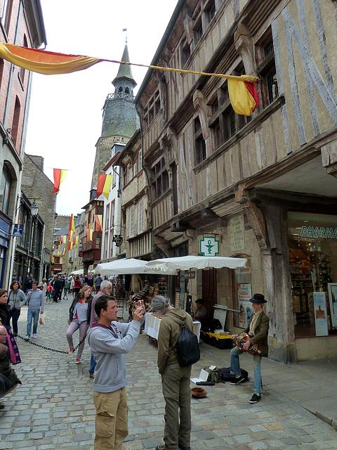 Dinan 2014 – Rue de l'Horloge