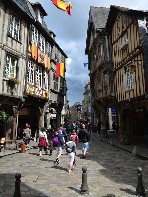 Dinan 2014 – Place des Merciers