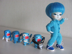 Pyry and his blue minions