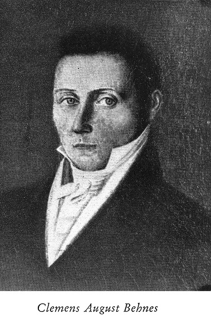 Dr. Clemens August Behnes (1775-1838)