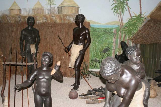 Afrika muzeo en Holice