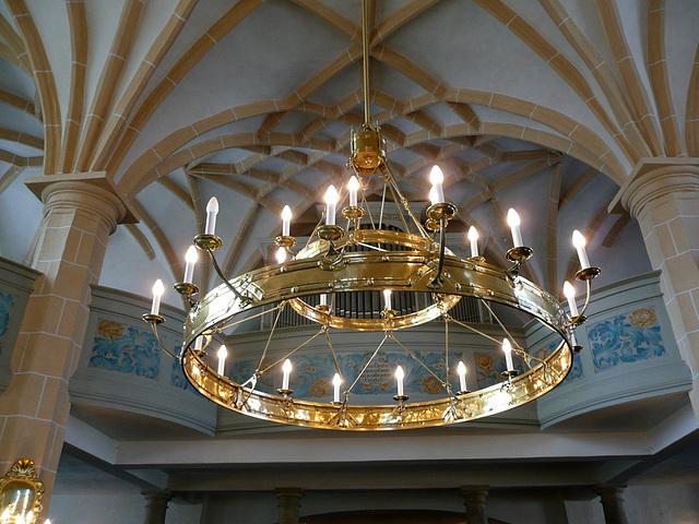 Kirche in Lauenstein von 1602 - Osterzgebirge