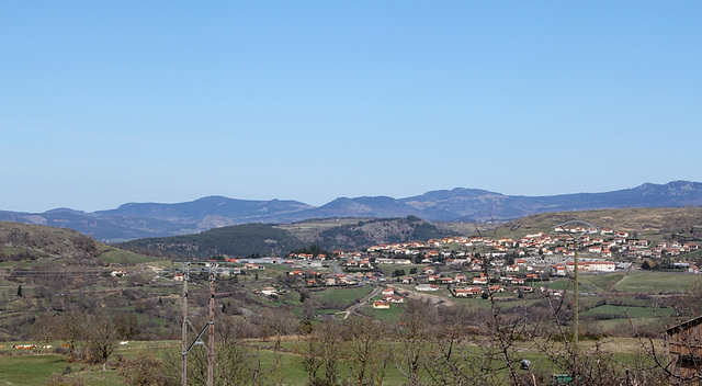 Panorama des sucs du Meygal