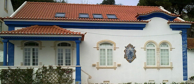 São Martinho do Porto, typical Portuguese house (4)