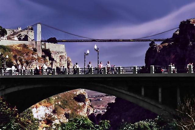The city of Constantine, Algeria... There where I live, where I born.