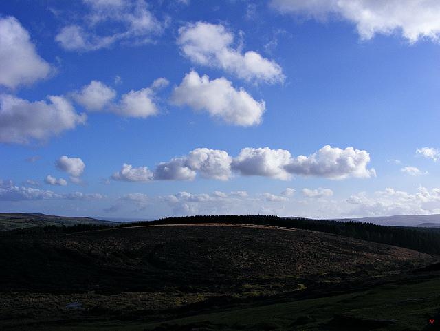 Dartmoor cloudscape