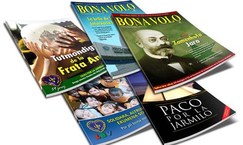 Esperanto-gazetoj eldonataj de Legio de bona volo