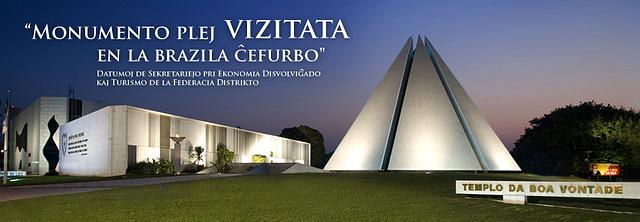 Ekumena templo de bona volo en Braziljo
