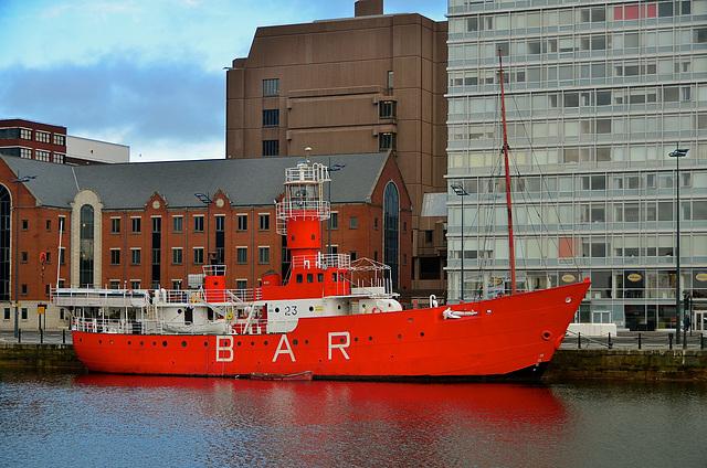 Old Bar Light Vessel, Albert Dock