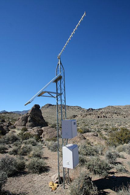 Death Valley National Park - Seismographic Equipment (9582)