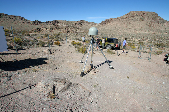 Death Valley National Park - Seismographic Equipment (9588)