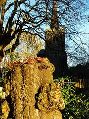 stoke newington old church, london