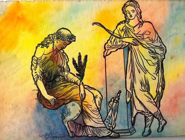 Kasandro kaj Apolono