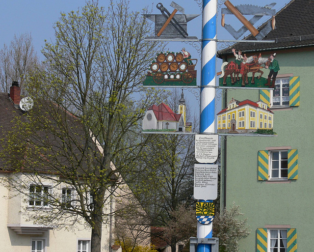 Nittenau - Zunftbaum