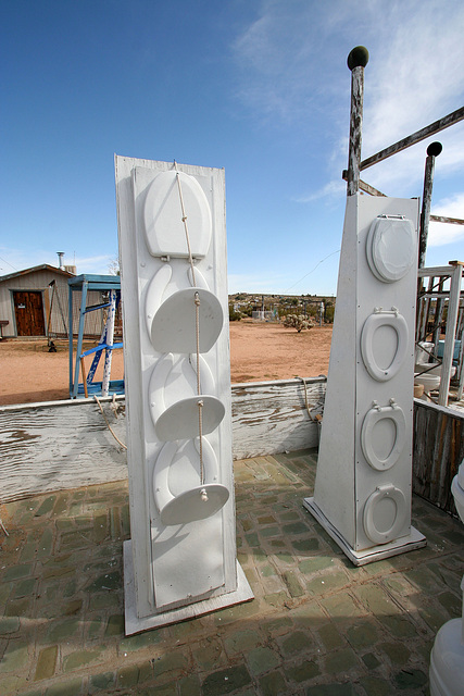 Noah Purifoy Outdoor Desert Art Museum - The White House (9853)