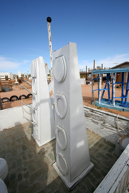 Noah Purifoy Outdoor Desert Art Museum - The White House (9858)