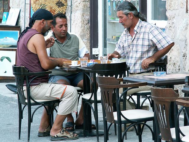Männerspielecke Nordzypern