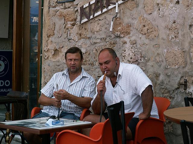 Männerrauchecke Nordzypern